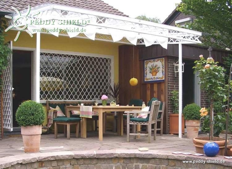 Sonnensegel wintergarten 96 x 275 cm uni wei f r die innenbeschattung glasdach mit seilspann - Beschattung wintergarten seilspann ...