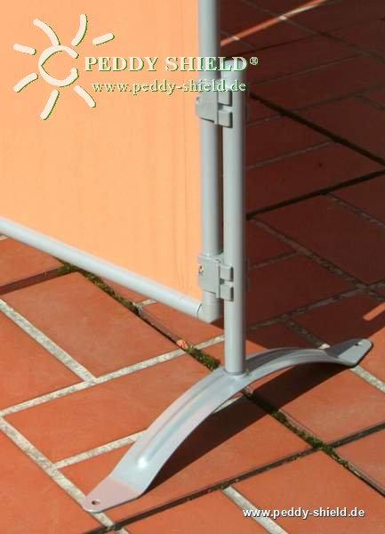Combi-Ständer 1x - für Sichtschutz Paravent auf Rasen oder Terrasse ...