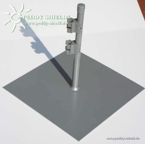 Fussplatte Paravent 1x Als Superflache Metallplatte Zum Freien