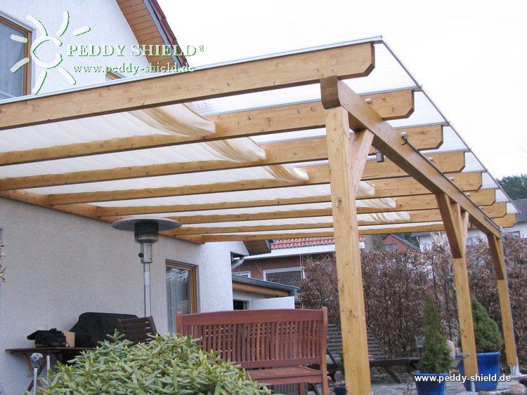 Sonnenschutzsegel Terrassendach 91 X 330 Cm Uni Weiss Fur Die