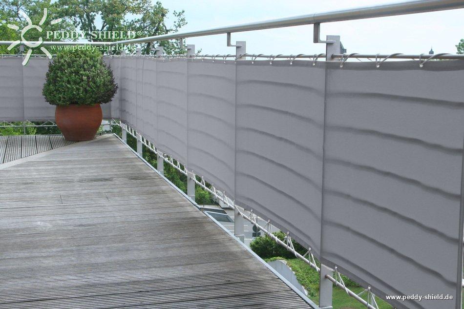 Häufig Waschbare Balkonverkleidung B75 x L500 cm - Farbe uni hell PD17