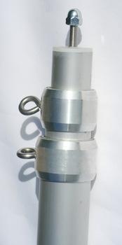 Brandneu Variabler Aluminium Teleskopmast: 3-teilig - max. Länge 280 cm für  KC98