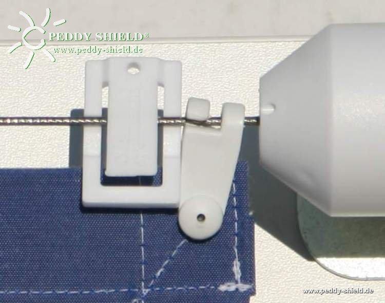 laufhakenstopper sonnensegel 4 st ck passend f r sonnensegel in seilspanntechnik system peddy. Black Bedroom Furniture Sets. Home Design Ideas