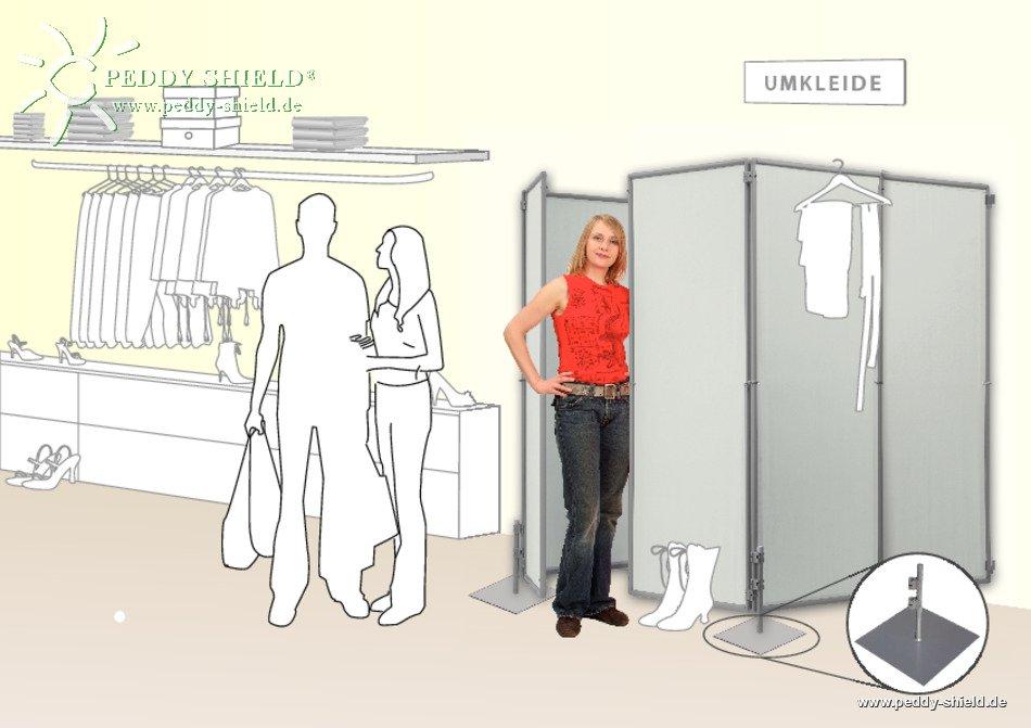 Qishi Der Sichtschutz in der Umkleidekabine kann sofort in die Regenschutzausr/üstung f/ür Au/ßenduschzelte und Camping-Toiletten eingebaut Werden