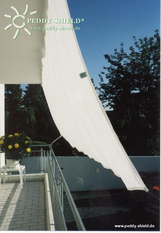 Seilspanntechnik Bausatz Balkon Ii Bietet Mit Faltsonnensegeln