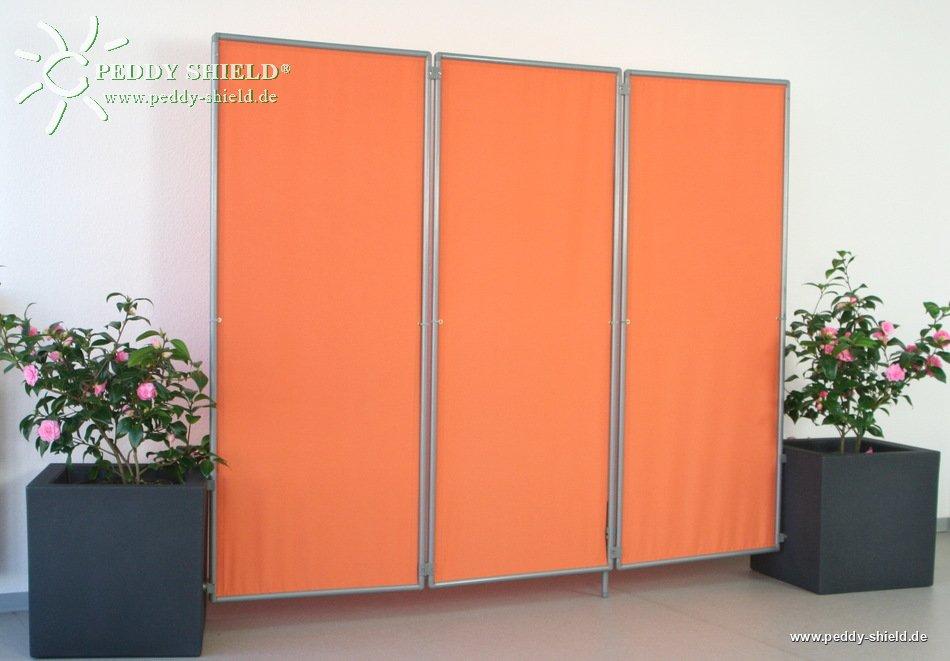 fotogalerie mobiler sichtschutz paravent f r balkon mit 1er rahmen erweiterbar und faltbar. Black Bedroom Furniture Sets. Home Design Ideas