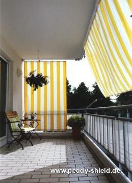 fotogalerie senkrecht sonnensegel 230x140 cm. Black Bedroom Furniture Sets. Home Design Ideas