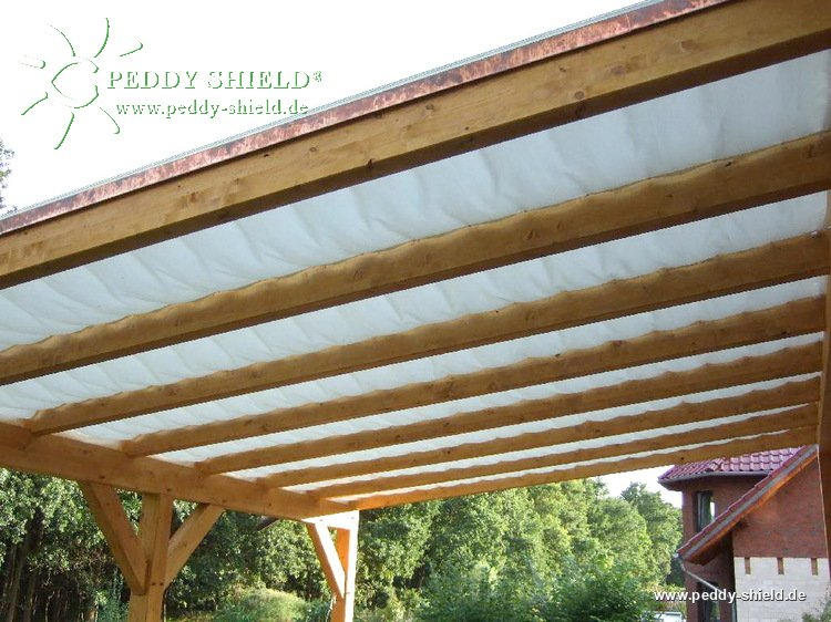 Fotogalerie faltsonnensegel terrassendach 61 x 275 cm uni wei ein mit der - Beschattung wintergarten seilspann ...