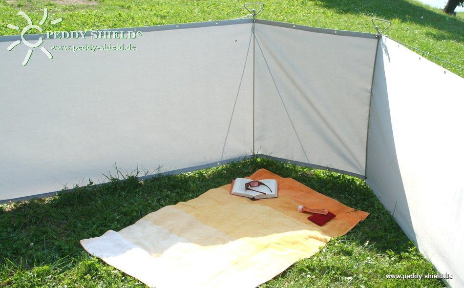 fotogalerie mobiler garten sichtschutz windschutz aus hochwertigen balkonblenden mit. Black Bedroom Furniture Sets. Home Design Ideas