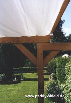 Gut gemocht Beschattung Terrasse mit Sonnensegeln in Seilspanntechnik von MI47