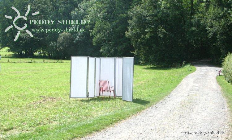Sichtschutz Garten - mobiler Paravent