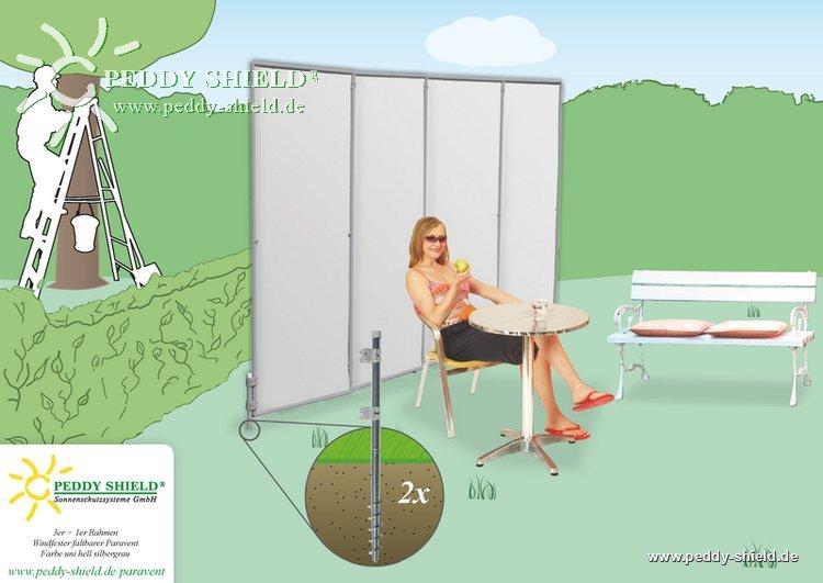 garten sichtschutz paravent peddy shield. Black Bedroom Furniture Sets. Home Design Ideas