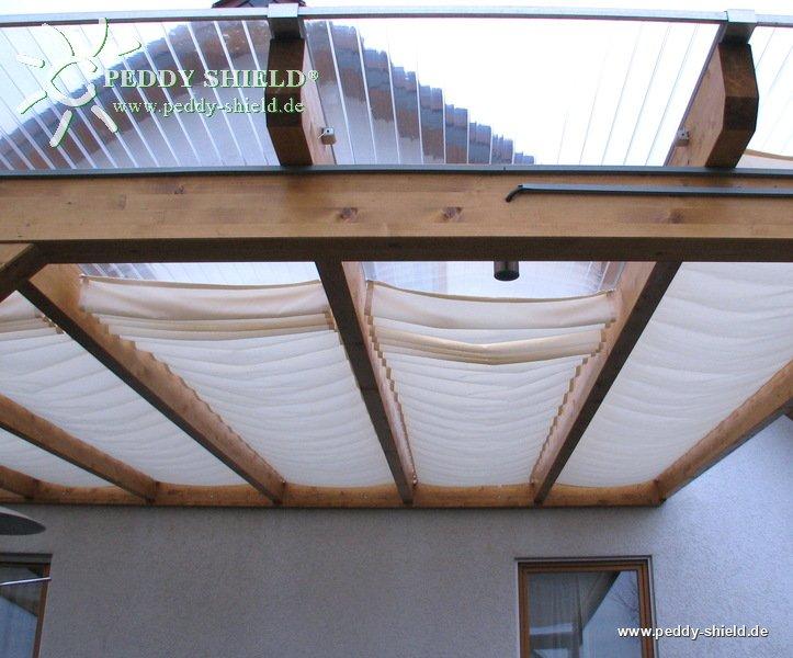 Au enbeschattung terrassen berdachung for Panneau de couverture de veranda