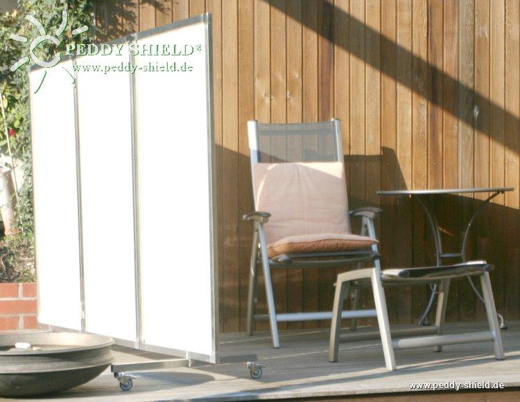 sichtschutz edelstahl paravent. Black Bedroom Furniture Sets. Home Design Ideas