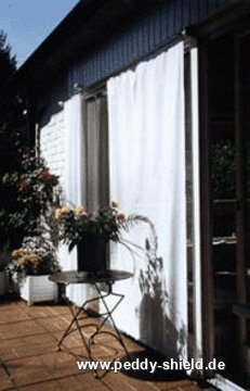 fenster sonnenschutz mit sonnensegeln von au en. Black Bedroom Furniture Sets. Home Design Ideas
