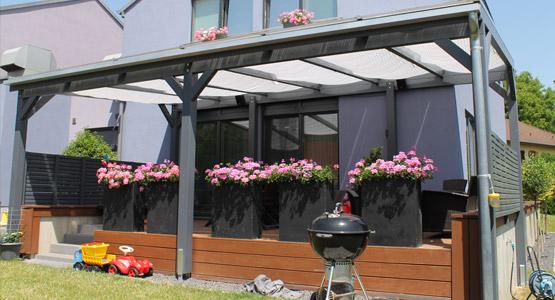 sichtschutz sonnenschutz f r terrasse garten und freizeit. Black Bedroom Furniture Sets. Home Design Ideas